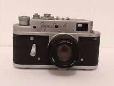 Russian USSR Vintage Zorki - 4 Camera Jupiter - 8 with 2/50 mm Lens and Case