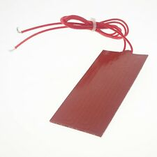 12V DC 50x150mm 20W Flexible Waterproof Silicon Heater Pad For 3D Printer