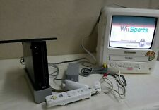 2006 Nintendo Wii Console Black Complete Mod. RVL-001 WORKS NICE! Adult Tested!