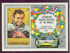 AJMAN 1971 FORMULA 1 AUTO RACING Jacques Ickx DELUXE