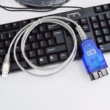 VAG-COM VCDS Cable USB Scanner Tool FTDI 409.1 VW Audi Ross Tech INPA OBD2 - US