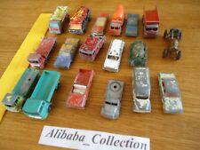 LOT JOUETS ANCIENS voiture métal 1/43e lesney matchbox ou autre