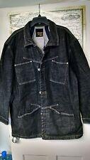 LE JEAN DE MARITHE FRANCOIS GIRBAUD Men's Denim Jacket Black XL