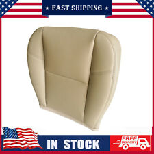 For Cadillac Escalade EXT ESV 2007-11 Front Driver Side Bottom Seat Cover Tan CL