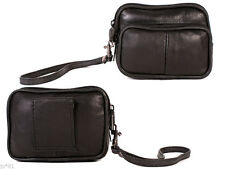 Leather Money Belt Pouches/Wallets