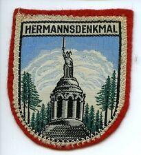 Ancien Ecusson Brodé Insigne Patch tissu HERMANNSDENKMAL
