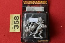 Games Workshop Warhammer Lizardmen Saurus Temple Guard Metal Figures NIB New OOP