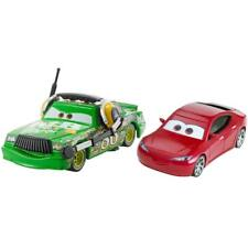 Disney Pixar Cars Die-Cast Natalie Certain & Chick Hicks with headset 2 Pack New