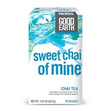 Good Earth Chai Tea Sweet Chai of Mine 18 Count Tea Bags (Pack of 6)