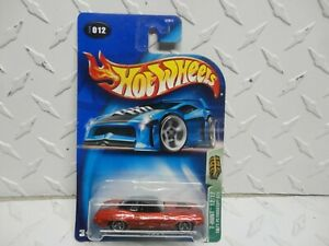 2003 Hot Wheels Treasure Hunt #12 Red 1971 Plymouth GTX CUDA