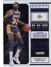 18/19 2018/19 Contenders Blue Foil Photo Variation #43 Magic Johnson Lakers