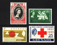 GRENADA-1952-CORONATION-&-1963-FREEDOM-FROM-HUNGER-SETS-MM