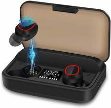 Wireless Earbuds Bluetooth 5.1 Headphones Ipx7 Waterproof Deep Bass 120H plays