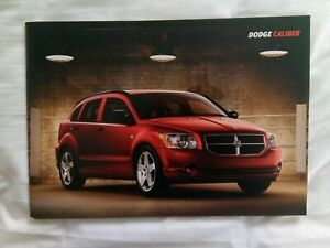 Dodge Caliber Sales Brochure 28pp A4 Landscape June 2006