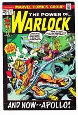 THE POWER OF WARLOCK #3 - 1972 Marvel - Roy Thomas & Gil Kane - Fine/Very Fine