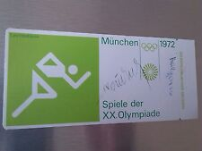 Sticker Otl Aicher HFG Ulm Olimpiadi 1972 Monaco Munich LABEL