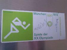 Sticker OTL AICHER HFG ULM OLYMPISCHE SPIELE 1972 MÜNCHEN MUNICH Label