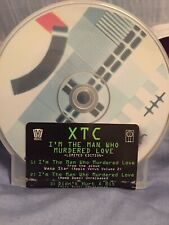 XTC - I'm The Man Who Murdered Love (CD) Limited Edition, OUT OF PRINT, NEW!