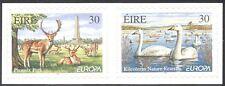 Ireland 1999 Europa/Parks/Gardens/Swans/Deer/Nature Reserve 2v s/a pr (n14333)