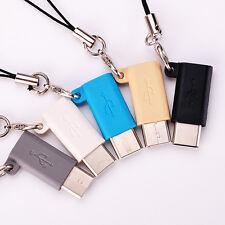 5Pcs USB Cable Mini Micro USB Female to Type C 3.1 Male Adapter USB C Converter