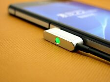 New Sony Metal Magnetic Charging Cable for Xperia Z1 Z1mini Z2 Z3 Z3 mini