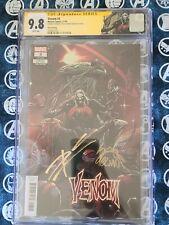 CGC SS 9.8 Venom #3 3rd Print Signed by Stegman & Cates