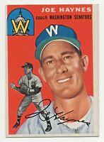 1954 Topps #223 Joe Haynes Washington Senators