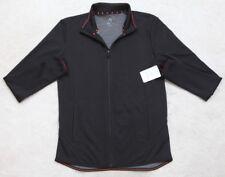 New Champion Athletic Jacket Coat Small Black Men's Zip Front Man Gym NWT DuoDry