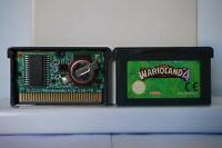 Wario land 4 Game Boy nintendo gameboy advance gba warioland  cartridge PAL 2001