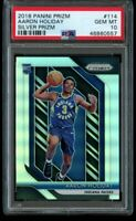 2018-19 Panini Prizm Aaron Holiday Silver Rookie PSA 10 Gem Mint #114 RC Pacers