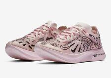 Nike Zoom Fly SP Fast Nathan Bell Doodles Pink Foam Black AT5242-100 Mens No Lid