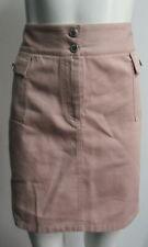 DOLCE & GABBANA pink denim cargo skirt w/ jewel letters SZ 42