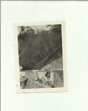 136996 FOTOGRAFIA FOTO ORIGINALE  bambina a lugano castagnola 1932