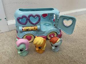 Playskool Friends My Little Pony Friendship Bus With 3 Ponies