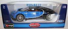 Articoli di modellismo statico blu marca Burago bugatti