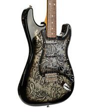 Fender Limited Edition Black Paisley Stratocaster, Rosewood Fingerboard, Black