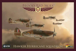 Blood Red Skies - Hawker Hurricane Squadron - New!