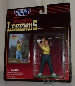 1995 STARTING LINEUP TIMELESS LEGENDS 68802 -*ARNOLD PALMER*- *NOS* #1