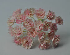 100 LIGHT ROSY PINK GYPSOPHILA miniature Mulberry Paper Flowers wedding craft