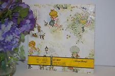 Holly Hobbie Gift Wrap Paper 2 Sheets American Greetings NIP GW1160B Vintage