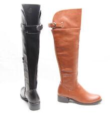 Scarpe da donna stivali sopra il ginocchio con tacco basso (1,3-3,8 cm) con cerniera