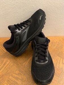 Brooks Adrenaline GTS 18 Mens Running Shoes  Black Size 10
