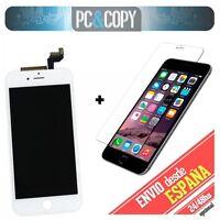 Pantalla completa LCD RETINA +Tactil+ cristal templado iPhone 6S de 4,7 blanco