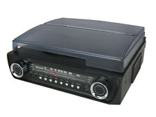 Roadstar TTR-9645EBT Retro Record Player Turntable with Bluetooth & FM Radio