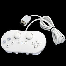 Classic Controller Game Pad Joypad Gamepad for Nintendo Wii Remote Gaming White