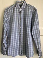 Hugo Boss Tessitura Monti Slim Fit LS Dress Shirt 39 x 15 1/2