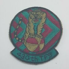 Original USAir Force USAF 430th Tactical Fighter Squadron TFS Patch