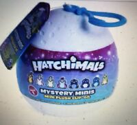 Brand New! Hatchimals  Plush Clip-On Mystery Character-Series 1