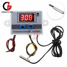 DC 24V LED Temperature Controller 10A Thermostat Control Switch NTC10K Probe