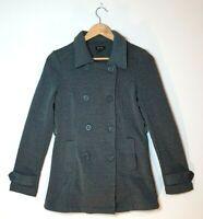Bardot Woman's Double Brested Jacket Coat Grey Size AU 8